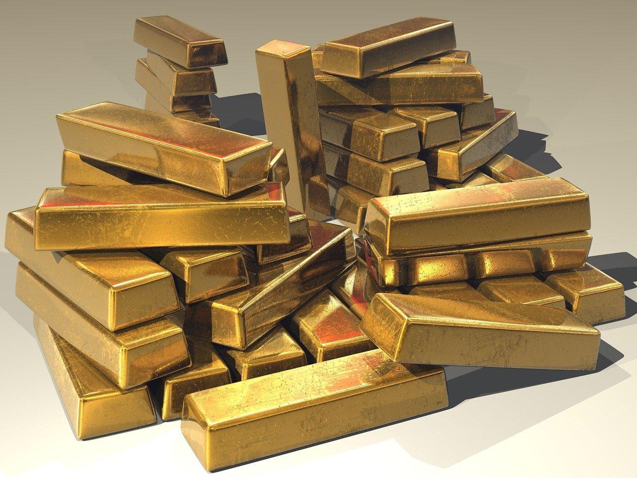 金地金(インゴット)の写真