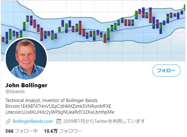 ジョンボリンジャーのTwitter