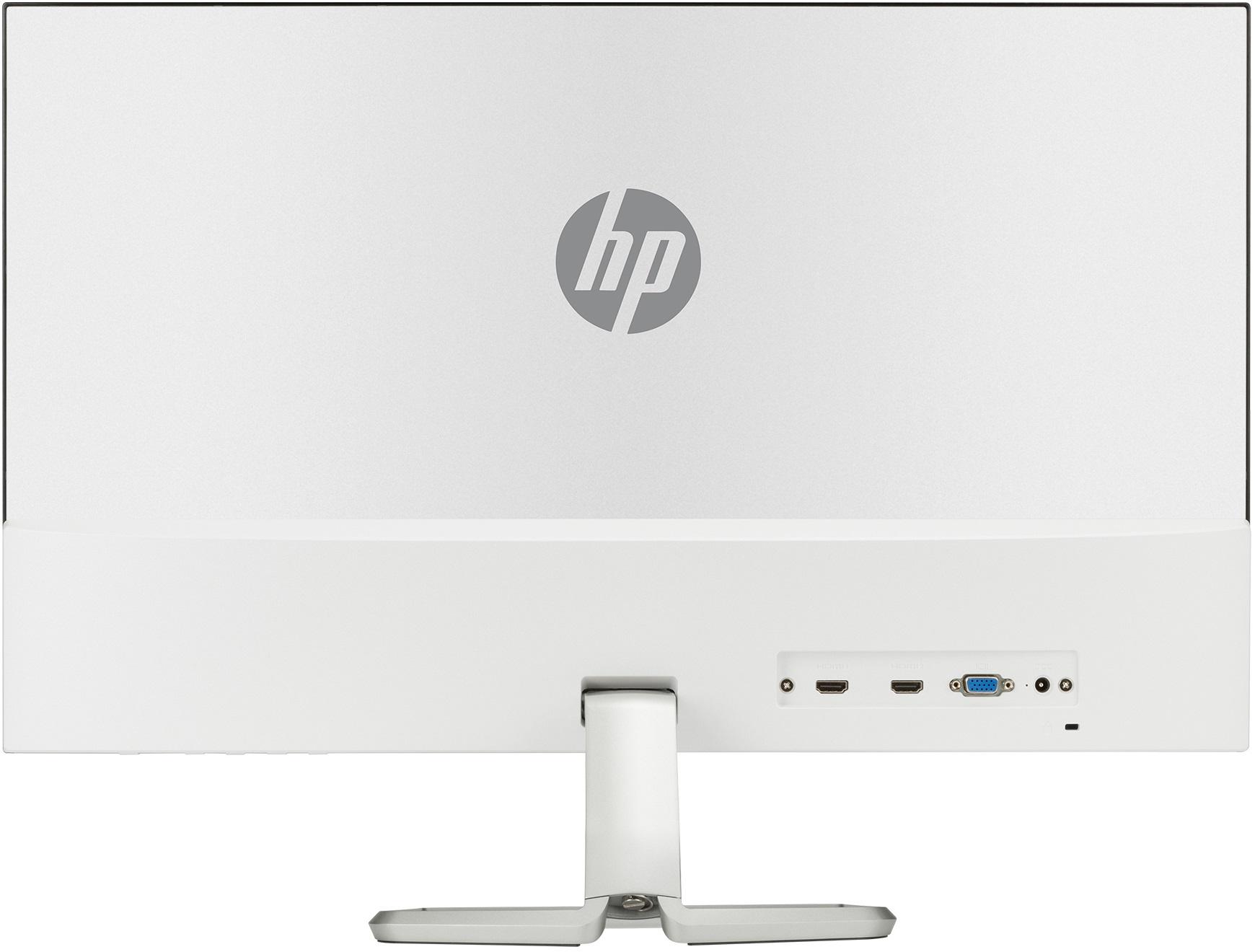 「HP 2XN62AA#ABJ」のモニター背面