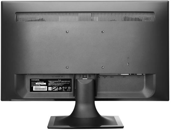 I-O DATA EX-LD2071TBの裏面VESAマウント