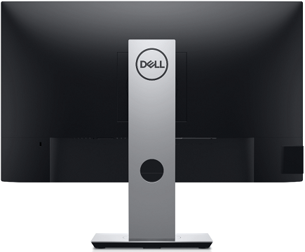 Dell P2419Hの裏面