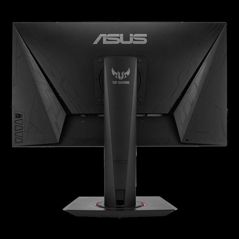 ASUS VG259Qの背面、VESAマウント