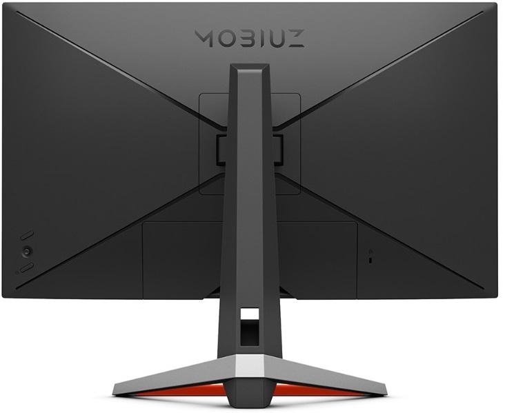 BenQ EX2710の背面VESAマウント部